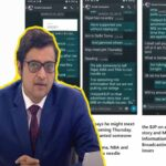 Arnab Goswami and Ex BARC CEO WhatsApp chat screenshots shared by Prashant Bhushan