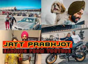 Jatt Prabhjot monthly income from youtube in 2021
