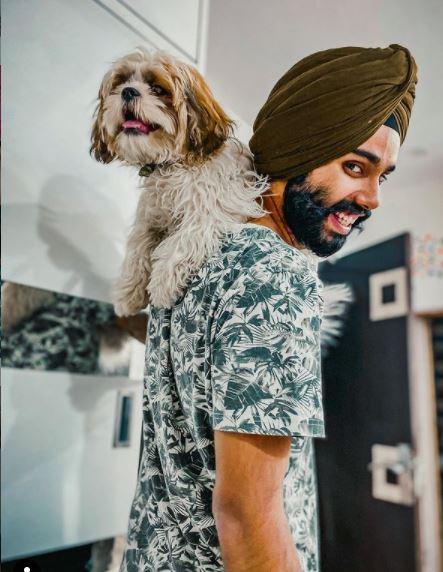 Jatt Prabhjot's pet cocco