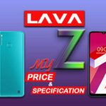 LAVA MyZ price and specification