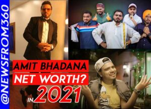 how much amit bhadana earn from youtube in 2021
