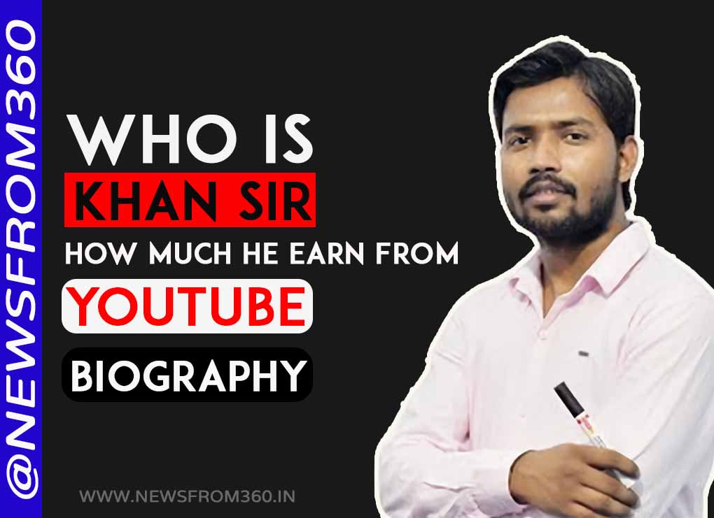 How much khan sir earn from youtube
