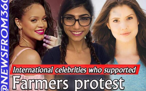 International celebrities who supported farmers protest