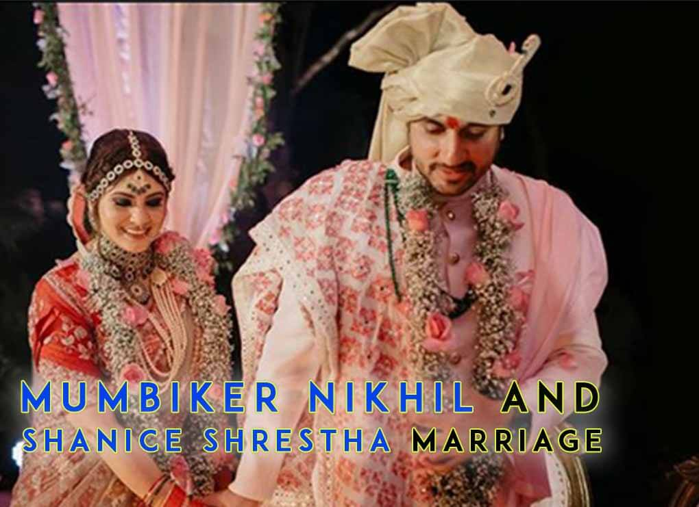 Mumbiker nikhil and shanice shrestha marriage with hindu and cristian tradition in goa