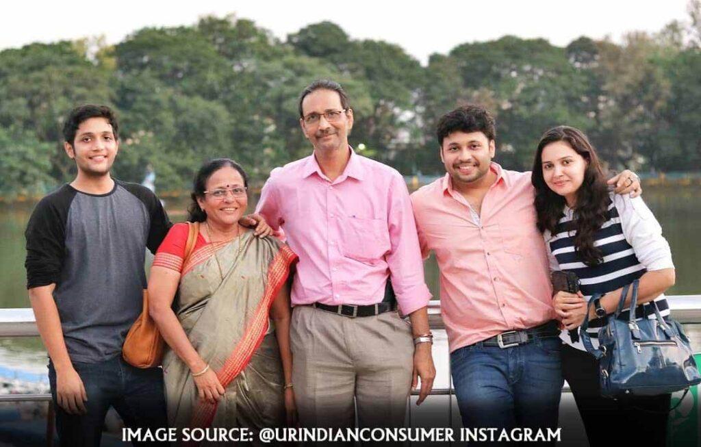 Prasad Vedpathak family