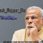 Students planning to trend Modi_Rojgar_Do on 25 FEB 2021