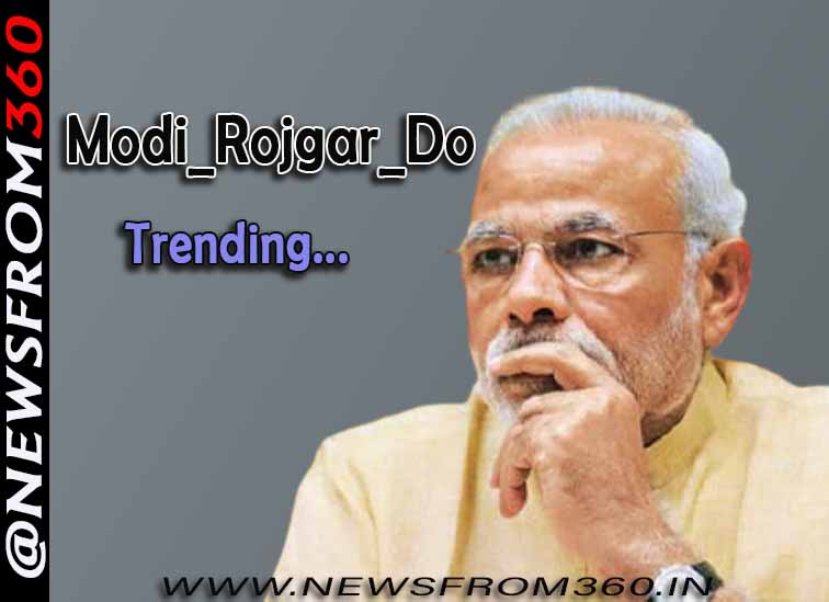 Students planning to trend Modi_Rojgar_Do on 25 FEB 2021