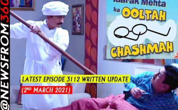 Tarak mehta ka oolta chashma written update