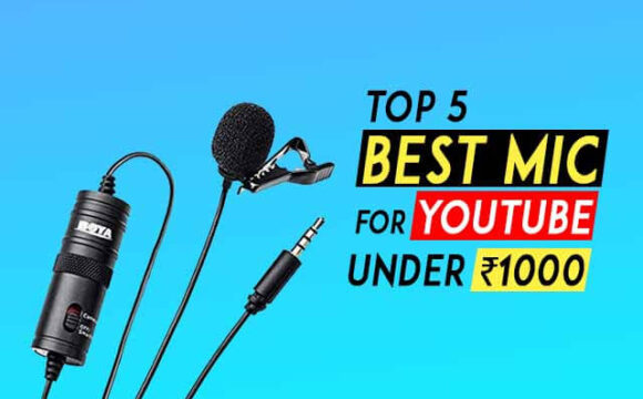Top 5 best mic for youtube under 1000