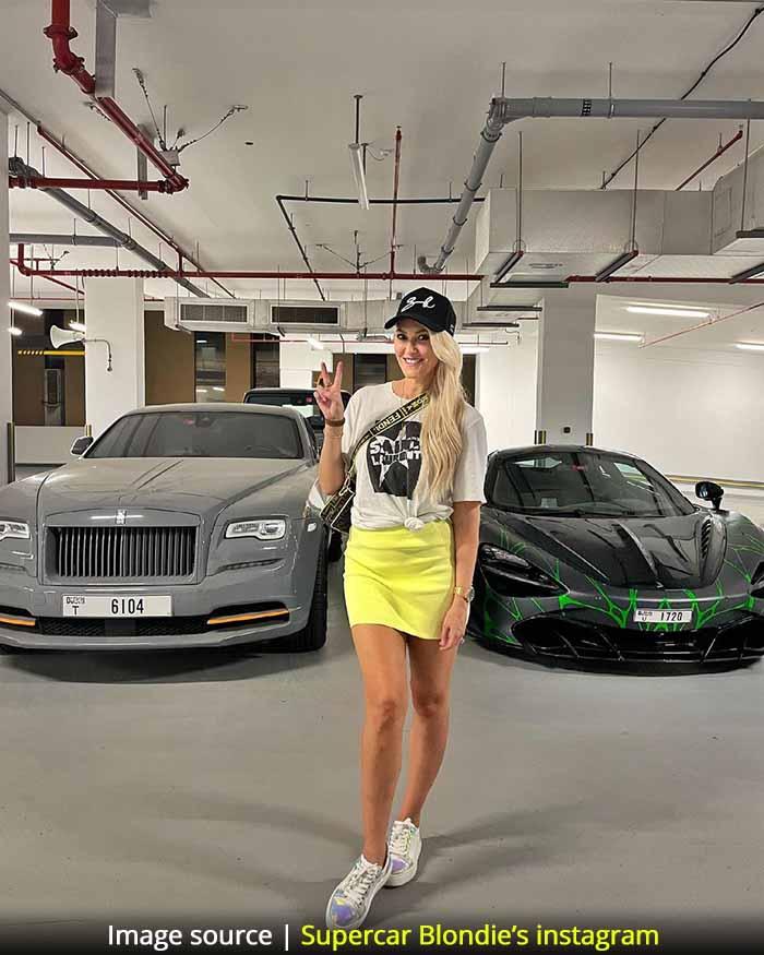 Supercar Blondie's net worth